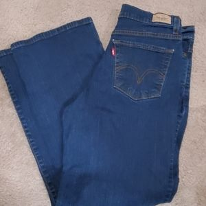 Levis perfectly slimming boot cut 512 8 short